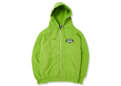 Supreme HYSTERIC GLAMOUR Zip Up Hooded Sweatshirt Lime  (SS21)の写真