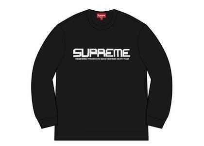 Supreme Split Logo Pullover Black  (SS21)の写真
