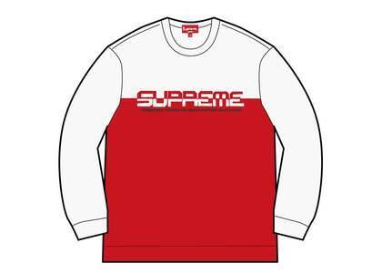 Supreme Split Logo Pullover White  (SS21)の写真