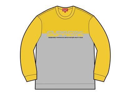 Supreme Split Logo Pullover Yellow  (SS21)の写真