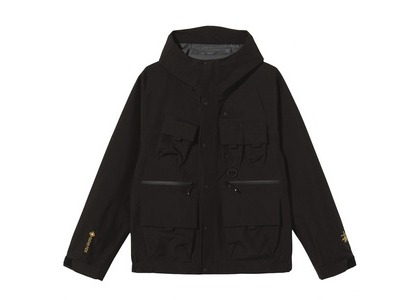 Stussy Gore-Tex The Wading Shell Jacket Blackの写真