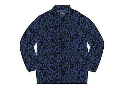 Supreme HYSTERIC GLAMOUR Leopard Trench Blue  (SS21)の写真