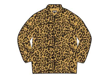 Supreme HYSTERIC GLAMOUR Leopard Trench Tan  (SS21)の写真