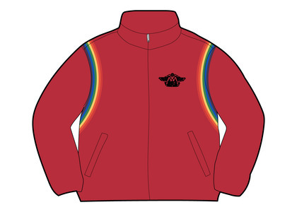 Supreme HYSTERIC GLAMOUR Velour Track Jacket Dusty Red  (SS21)の写真