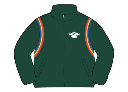 Supreme HYSTERIC GLAMOUR Velour Track Jacket Green  (SS21)の写真