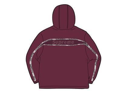 Supreme Reflective Zip Hooded Jacket Purple  (SS21)の写真