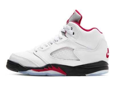 Nike Air Jordan 5 Retro OG Fire Red (PS)の写真
