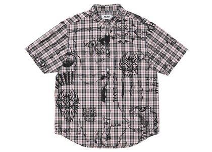 Palace Lotties Shirt Red Check (SS21)の写真