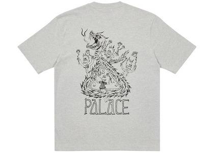 Palace Lotties Classic T-Shirt Grey Marl (SS21)の写真