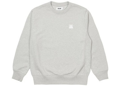 Palace Square Patch Crew Grey Marl (SS21)の写真