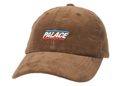 Palace Basically A Cord 6-Panel Brown (SS21)の写真