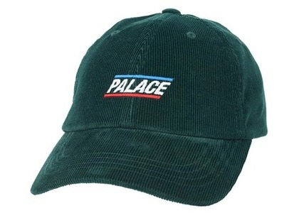 Palace Basically A Cord 6-Panel Green (SS21)の写真