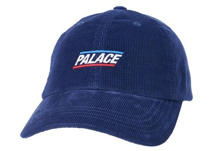 Palace Basically A Cord 6-Panel Navy (SS21)の写真
