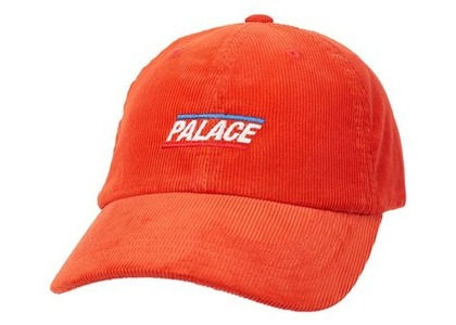 Palace Basically A Cord 6-Panel Orange (SS21)の写真