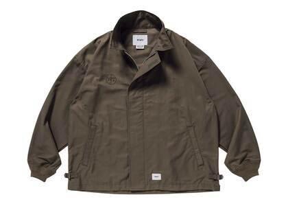 Wtaps W2 Jacket Nyco Twill Oliveの写真