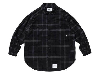 Wtaps Wcpo L/S Copo Ripstop Textile Coolmax Blackの写真