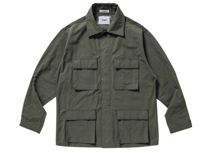 Wtaps Wmill-LS 01 L/S Nyco Ripstop Oliveの写真