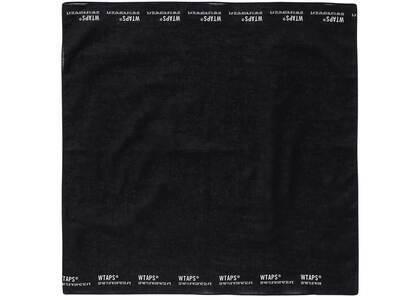 Wtaps Bandaria Bandana Cotton Blackの写真