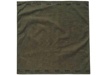 Wtaps Bandaria Bandana Cotton Olive Drabの写真