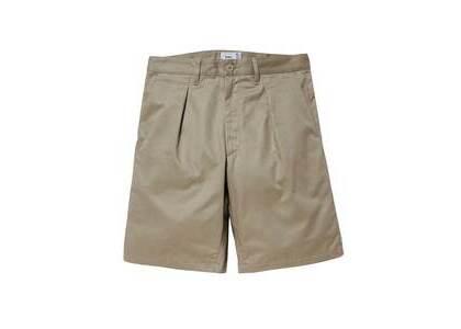 Wtaps Tuck 02 Shorts Cotton Twill Beigeの写真