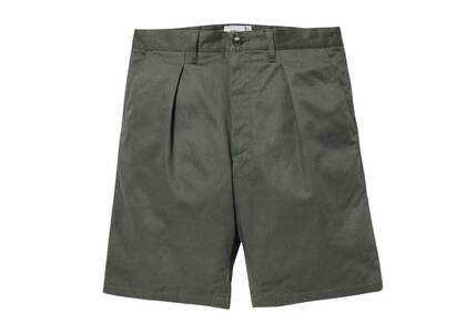 Wtaps Tuck 02 Shorts Cotton Twill Olive Drabの写真