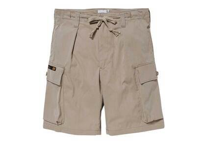 Wtaps Jungle Country Shorts Nyco Tussah Beigeの写真