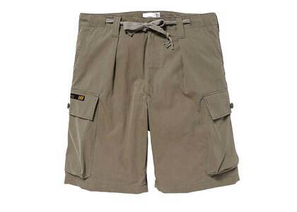 Wtaps Jungle Country Shorts Nyco Tussah Olive Drabの写真