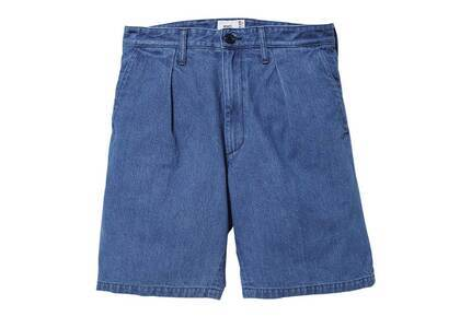 Wtaps Tuck 01 Shorts Cotton Denim Indigoの写真