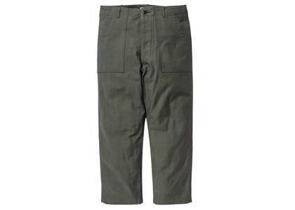 Wtaps Wmill Trouser 02 Trousers Cotton Satin Olive Drabの写真