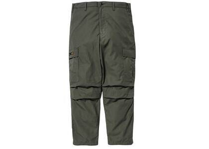 Wtaps Jungle Stock Trousers Cotton Ripstop Olive Drabの写真