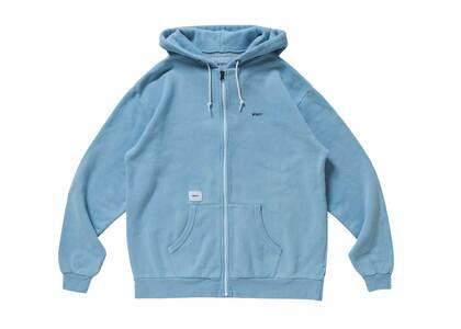 Wtaps Flat Zip Up Hooded Cotton Blueの写真