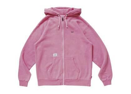 Wtaps Flat Zip Up Hooded Cotton Pinkの写真
