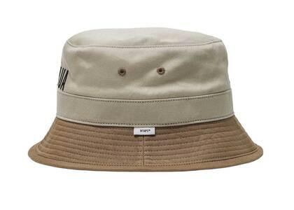Wtaps Bucket 02 Hat Cotton Twill  Beigeの写真