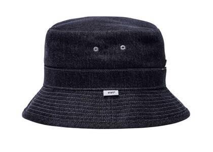 Wtaps Bucket 01 Hat Cotton Denim  Blackの写真