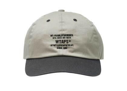 Wtaps T-6L 01 Cap Cotton Twill Grayの写真