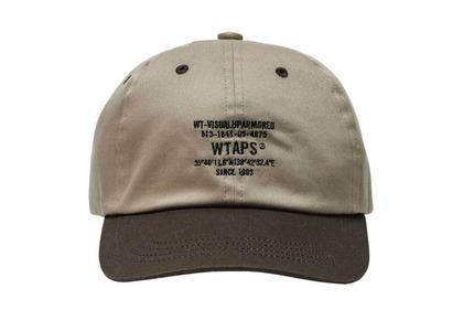 Wtaps T-6L 01 Cap Cotton Twill Brownの写真