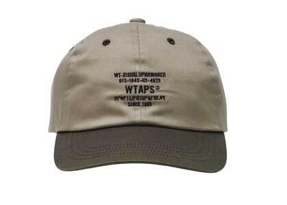 Wtaps T-6L 01 Cap Cotton Twill Olive Drabの写真