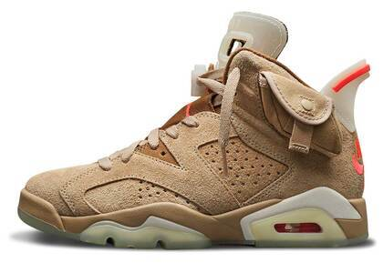 Travis Scott × Nike Air Jordan 6 British Khakiの写真