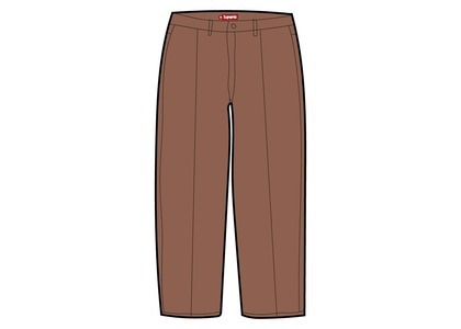 Supreme Pleated Trouser Brown (SS21)の写真