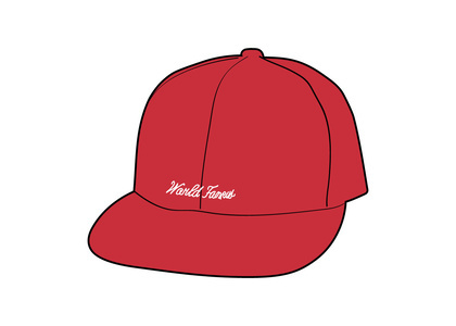 Supreme Reverse Box Logo New Era Red (SS21)の写真