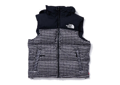 Supreme The North Face Studded Nuptse Vest Black (SS21)の写真