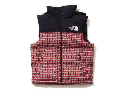 Supreme The North Face Studded Nuptse Vest Red (SS21)の写真