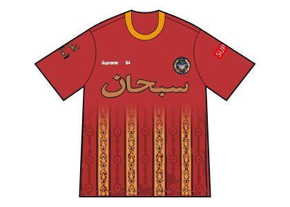 Supreme Arabic Logo Soccer Jersey Red (SS21)の写真