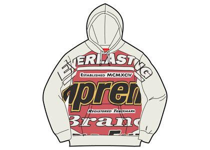Supreme Everlasting Hooded Sweatshirt White (SS21)の写真