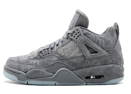 Kaws × Nike Air Jordan 4 Retro Greyの写真
