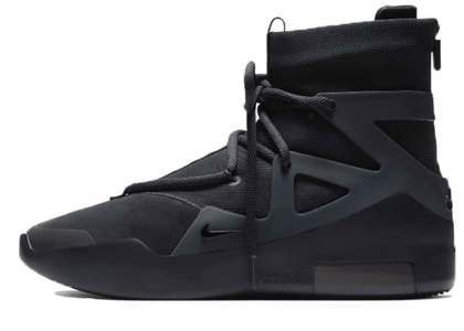 Nike Air Fear of God 1 Triple Blackの写真