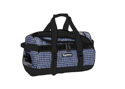 Supreme The North Face Studded Small Base Camp Duffle Bag Royal (SS21)の写真