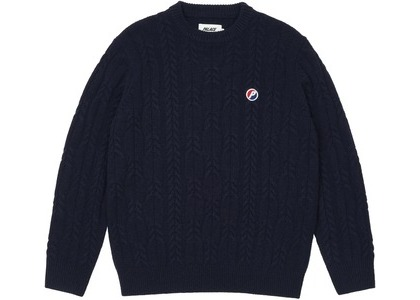 Palace Cable Knit Blue (SS21)の写真