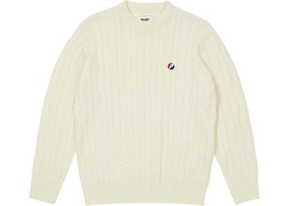 Palace Cable Knit Cream (SS21)の写真