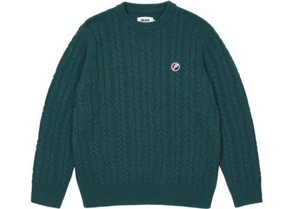 Palace Cable Knit Teal (SS21)の写真